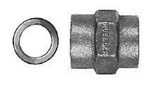 Mueller Industries Female Flare x FIPT Brass Straight Coupling MH15082N