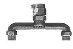 Mueller Industries Pack Joint x MIPT Water Service Brass U Branch MP15363N712