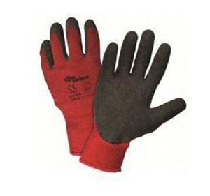 West Chester Holdings Polyester Latex Palm Glove W701CRLB
