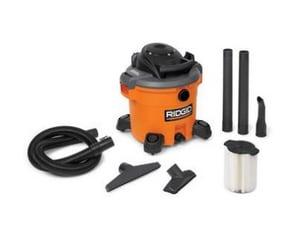Ridgid 5 hp 12 gal. 120 V High Perform Wet/Dry Vacuum RID40103