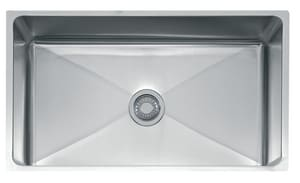 Franke Consumer Products Professional 32-1/2 x 18-1/8 in. Single Bowl Undermount Kitchen Sink Stainless Steel FPSX1103312