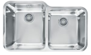Franke Consumer Products Largo 2-Bowl Undercounter Kitchen Sink FLAX16036