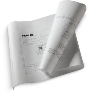 Kohler VibrAcoustic® Undercounter Install Kit For 1834/1835 K593-NA