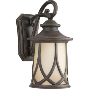 Progress Lighting Resort 15-7/8 in. 100 W 1-Light Medium Lantern in Aged Copper PP5988122