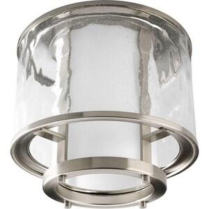 Progress Lighting Bay Court 100W 1-Light 120V Medium Flushmount Ceiling Fixture PP3941