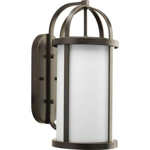 Progress Lighting Greetings 100W Medium E-26 Base Wall Lantern in Antique Bronze PP572820