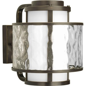 Progress Lighting Bay Court 100W 1-Light Medium Base Wall Lantern PP585120