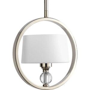 Progress Lighting Fortune 60 W 1-Light Candelabra Pendant PP5007104