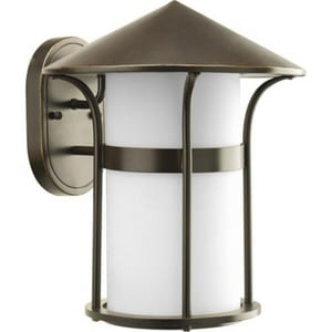 Progress Lighting Welcome 11 in. 100 W 1-Light Medium Lantern PP6005