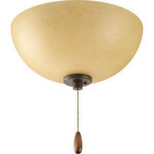 Progress Lighting Bravo 3 Light 40W Candelabra Flush Antique Bronze PP265020T