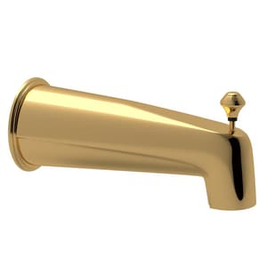 Rohl Verona Wall Mount Tub Spout with Integrated Diverter and 6-3/4 in. Spout Reach RRT8000