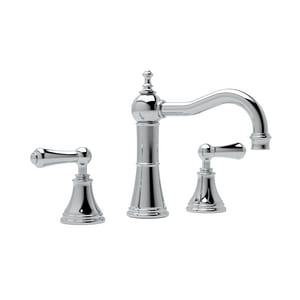 Rohl Perrin & Rowe® Georgian Era 3-Hole Deckmount Widespread Lavatory Faucet with Double Metal Lever Handle RU3723LS2