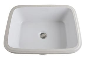Rohl Allia 1-Bowl Rectangle Undermount Lavatory Sink R154200