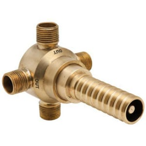 Rohl 5 gpm 3-Way Brass Deck Diverter Rough-In Valve RR1062BO