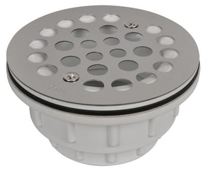 Weld-On 2 in. PVC Stainless Steel Shower Drain I67031