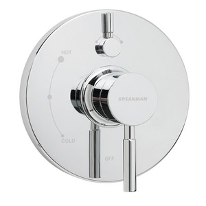Speakman Neo™ Pressure Balancing Valve with Diverter and Trim SSM1400P
