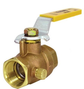 Legend Valve & Fitting IPS Full Port Ball and Waste Valve L10160NL