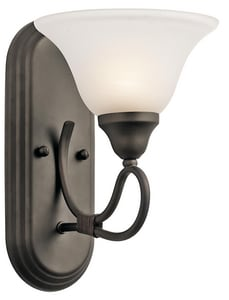 Kichler Lighting Stafford™ 100W 1-Light Wall Sconce KK5556