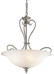 Kichler Lighting Tanglewood Collection 100W 3-Light Halogen Inverted Pendant KK42903