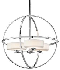 Kichler Lighting Olsay™ 50W 3-Light Halogen Chandelier with Bulb KK42505