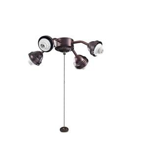 Kichler Lighting 4-Light Bent Arm Fitter Light Kit KK350102