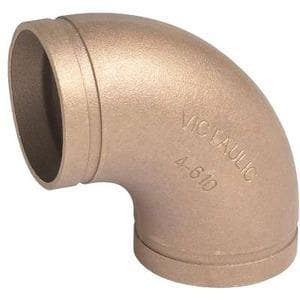 Victaulic Style 650 8 x 6 in. Grooved Copper Reducer VFF47650C0C