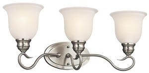 Kichler Lighting Tanglewood 100W 3-Light Bath Vanity Fixture KK45903