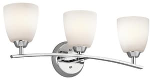 Kichler Lighting Granby™ 25 in. 100W 3-Light Medium Bath Bracket KK45360
