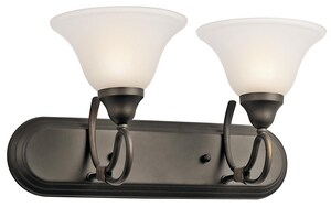 Kichler Lighting Stafford™ 2-Light Bath Light KK5557