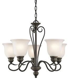 Kichler Lighting Tanglewood Collection 100W 5-Light Medium Incandescent Chandelier KK42906