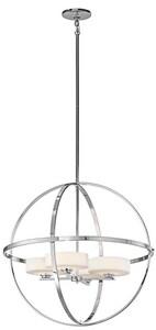 Kichler Lighting Olsay™ 50W 4-Light Halogen Chandelier with Bulb KK42506