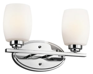 Kichler Lighting Eileen™ 100W 2-Light Bath Vanity Fixture KK5097