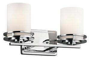 Kichler Lighting Hendrik™ 6-1/2 in. 100W 2-Light Medium Bracket KK5077CH