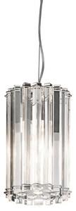Kichler Lighting Crystal Skye 100W 1-Light Medium Incandescent Mini Pendant KK42174CH