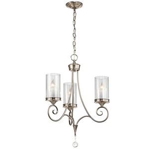 Kichler Lighting Lara™ 26-/12 in. 60W 3-Light Candelabra Incandescent Chandelier KK42860