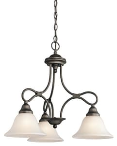 Kichler Lighting Stafford™ 100W 3-Light Medium Incandescent Chandelier KK2556