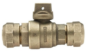Mueller Steam Specialty CTS Compression Ball Curb Valve MB25209N