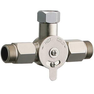 Chicago Faucet 1/2 in. 2.5 gpm Concentric Mechanical Mixer Valve C242165AB1