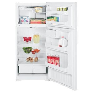 General Electric Appliances Hotpoint® 28 in. 16.5 cf Top Freezer Refrigerator GHTH17CBDR