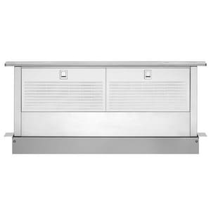 Whirlpool 600 cfm Retractable Downdraft System in Stainless Steel WUXD86DYS