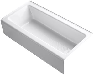 Kohler Bellwether® 60 x 30-1/4 in. 3-Wall Alcove Bathtub with Right Hand Drain K838
