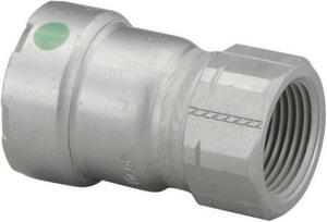 Viega North America MegaPress 250F Press x Female Carbon Steel Adapter with EPDM Sealing Element V25R