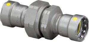 Viega MegaPressG Press Carbon Steel Union V2571