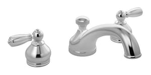 Symmons Industries Allura™ 3-Hole Deckmount Roman Tub Faucet with Double Lever Handle SYMSRT4770