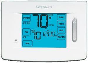 Braeburn Systems SpeedSet® Touchscreen 5/2 Programmable Thermostat BRA5320