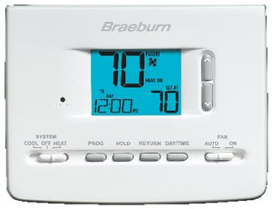 Braeburn Systems 5-2 Day Programmable Thermostat BRA2020NC