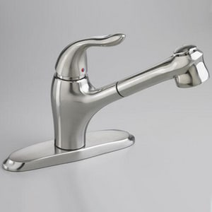 American Standard Lakewell™ 2.2 gpm Single-Handle Deck Mount Kitchen Sink Faucet 360° Swivel A4114100