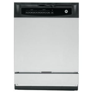 General Electric Appliances 24 in. 5-Option 5-Cycle Built-In Dishwasher Electric Control in Stainless Steel GGSD4060DSS
