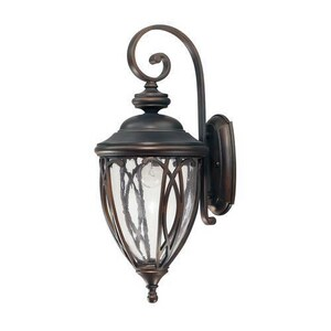 Capital Lighting Fixture Astor 1-Light Outdoor Wall Lantern in Old Bronze C9451OB