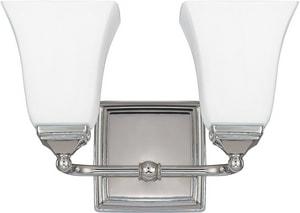 Capital Lighting Fixture Co. Vanity 100W 2-Light Vanity Fixture C8452119